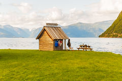 Fisherman cabin,  Norway Royalty Free Stock Photography