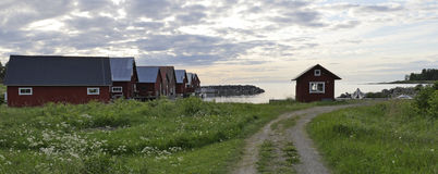 Fisherman cabins Stock Image