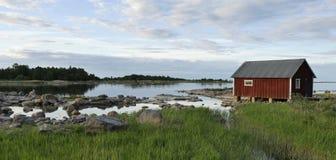 Fisherman cabins Stock Photography