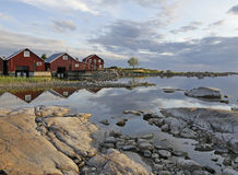 Fisherman cabins Stock Photo