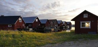 Fisherman cabins Stock Photos