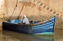 Fisherman in Essaouria Morocco Stock Photo