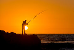 Fisherman Royalty Free Stock Photo