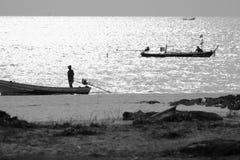 Fisherman fishing lifestyle Royalty Free Stock Photo