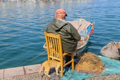 Fisherman and fishing stock photography