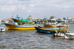 Fisherman harbour Royalty Free Stock Photography