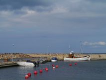 Fisherman harbour Stock Photos