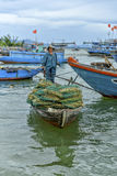 Fisherman, Hoi An, Vietnam Royalty Free Stock Images