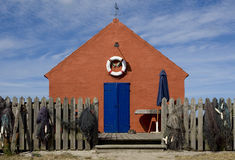 Fisherman house on Bornholm, Denmark Royalty Free Stock Images