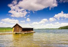Fisherman house Royalty Free Stock Photos