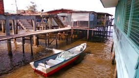 Fisherman house Stock Photos
