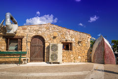Fisherman house on Zakynthos island Royalty Free Stock Photos