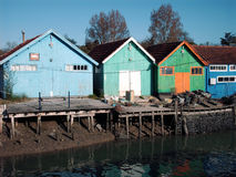 Fisherman Houses Royalty Free Stock Photography