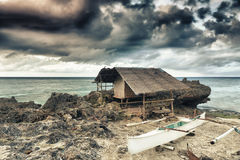 Fisherman hut Royalty Free Stock Photo