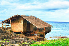 Fisherman hut Stock Photography
