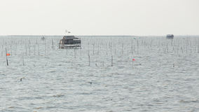 Fisherman Hut in Bangsai Royalty Free Stock Image