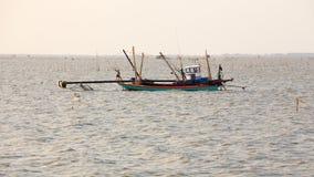 Fisherman Hut in Bangsai Royalty Free Stock Images