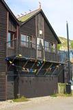 Fisherman hut at Hastings, England Royalty Free Stock Photo