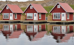 Fisherman huts Royalty Free Stock Images