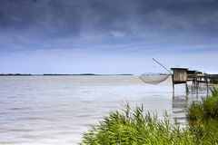 Fisherman huts Stock Photos