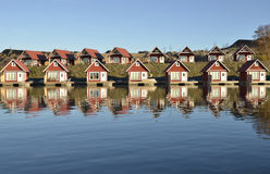 Fisherman huts Stock Photo
