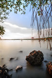Fisherman Jetty at Pasir Panjang, Negeri Sembilan Royalty Free Stock Photos