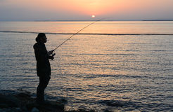 Fisherman Royalty Free Stock Image