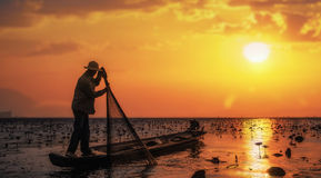 Fisherman Royalty Free Stock Photos