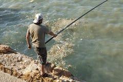 A fisherman, Lebanon Royalty Free Stock Image