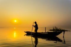 Fisherman life. Chonburi in thailand Stock Photo