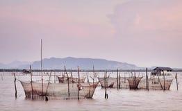 fisherman life Stock Image