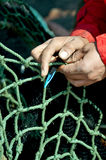 Fisherman net Stock Photos