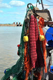 Fisherman nets Stock Photo