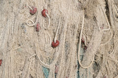 Fisherman nets Stock Photos