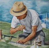 Fisherman stock photos