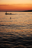 The fisherman in Omis, Croatia Royalty Free Stock Image