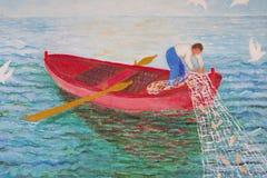 Fisherman Painting