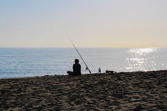 Fisherman. stock photography