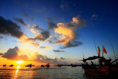 Fisherman pier Royalty Free Stock Photos