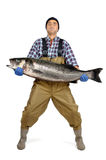 Fisherman's catch Stock Image