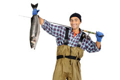 Fisherman's catch Stock Photography