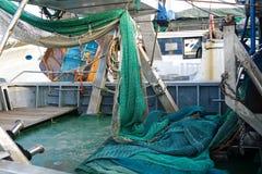 Fisherman& x27; red de s Fotografía de archivo