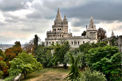 Fisherman's Bastion. Picture of the Fisherman's Bastion in Budapest, Hungary Stock Image