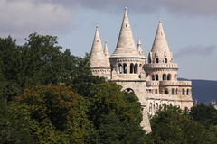 Fisherman's Bastion. The Fisherman's Bastion in Budapest, Hungary stock photo