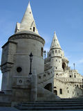 The Fisherman's Bastion. In Budapest Royalty Free Stock Images