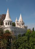 Fisherman's Bastion. In Budapest. A wonderful place to visit Stock Image