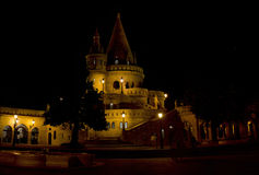 Fisherman's Bastion in Buda Castle Stock Photography