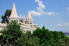 Fisherman's Bastion, Budapest. A picture of Fisherman's Bastion in Budapest, Hungary Stock Image
