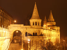 Fisherman's Bastion in Budapest Royalty Free Stock Photography