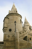 Fisherman's Bastion Budapest. Fisherman's Bastion the Castle in Budapest Hungary Stock Photos